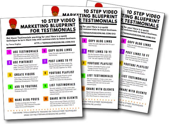 10 Step Video Marketing Blueprint