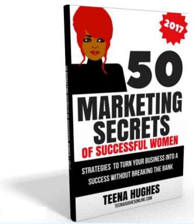 50 Marketing Secrets book by Teena Hughes
