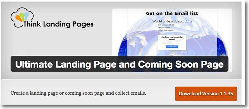 Option 3 - best free Landing Page plugins